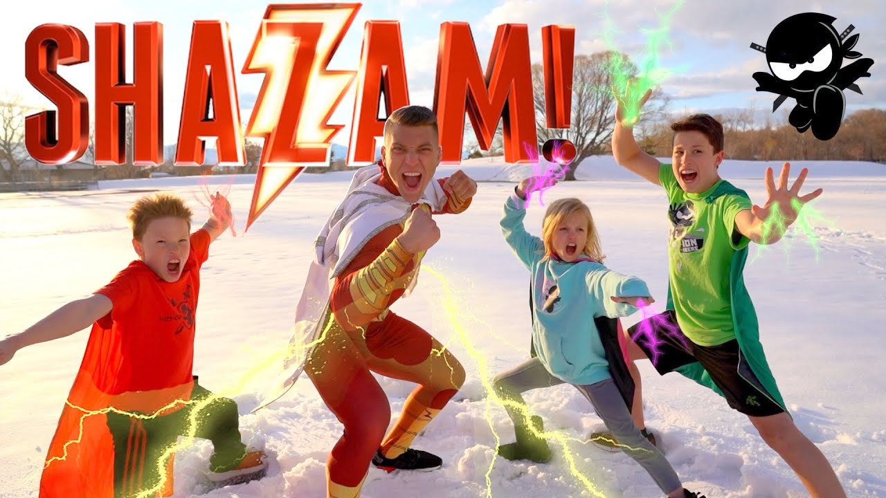 SHAZAM! NinjaZ Movie Remastered