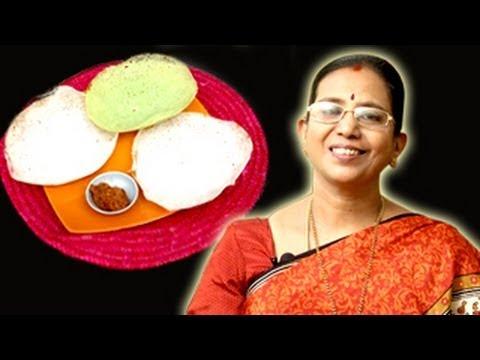 Appam Dosa Recipe | Mallika Badrinath Recipes | Dosai, South Indian Food