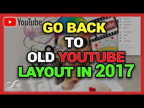 How to go back to old YouTube layout in 2017-Revert back to old Youtube