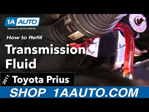 How to Refill your Transmission Fluid 10-15 Toyota Prius