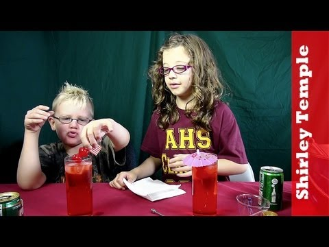 The Shirley Temple Mocktail, Ginger Ale vs. Sprite