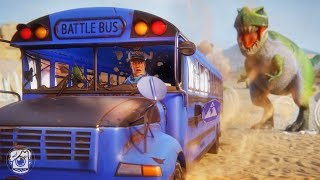 THE BATTLE BUS TRAVELS THROUGH TIME?! (A Fortnite Short Film)
