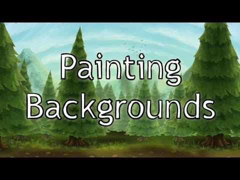 How to Paint Backgrounds in Photoshop