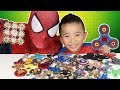 45 Must Have FIDGET SPINNERS Spidermans Collection