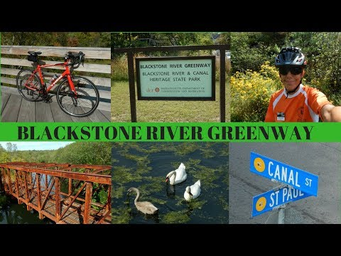 Beautiful day for a bike ride along the Blackstone River Bike Path  ~  Greenway ~ Massachusetts