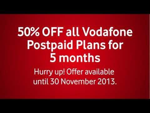 Vodafone Qatar | Get 50% OFF all Vodafone Postpaid Plans!