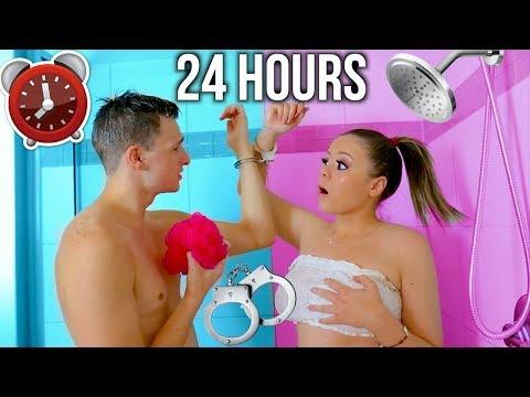 24 HOUR HANDCUFF CHALLENGE WITH MY BOYFRIEND!