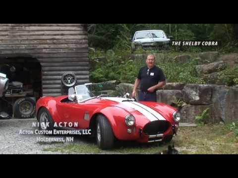 Around the Corner: Shelby Cobra Build