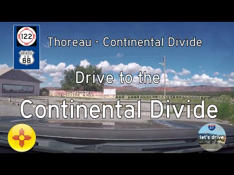Historic Route 66 - Thoreau - Continental Divide - New Mexico | Drive America's Highways 🚙