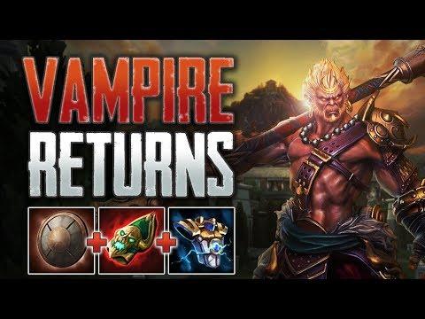 Xxx Mp4 Vampire Build Returns Sun Wukong Solo Gameplay SMITE Conquest 3gp Sex