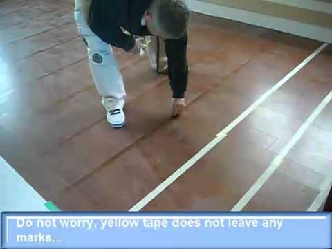 How to Clean Prefinished Hardwood Floors after Glue Down Installation