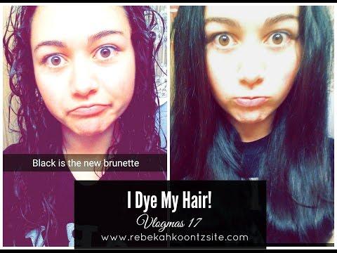 I Dye My Hair!   Vlogmas 17
