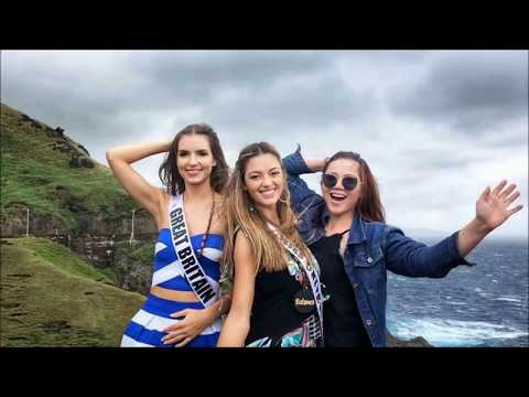 Miss Universe 2017 in PH - Day 3 - Batanes, Bohol, Camiguin PR Travelling Group (re-upload)