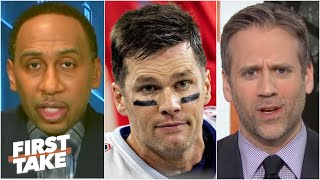 Stephen A. and Max Kellerman react to Tom Brady to the Buccaneers | First Take