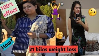 What I ate in a day to lose weight 21 Kilo 2018