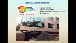 Shemaroo Entertainment Ltd - a Media Power house