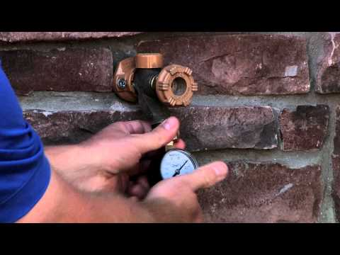 How To Perform A Water Pressure Test
