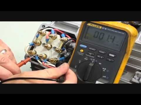 How to Check Winding Resistance on a 230/460V, 3-Phase, 60Hz, 9 Lead motor | NORD DRIVESYSTEMS Group