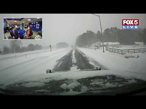 FOX 5 LIVE (1/4): SNOW in Ocean City,  Md., NY and N.E. in overnight