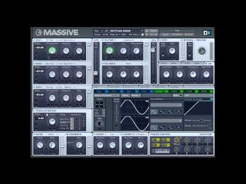 Massive tutorial - Wobble bass and Dirty Dutch Synth