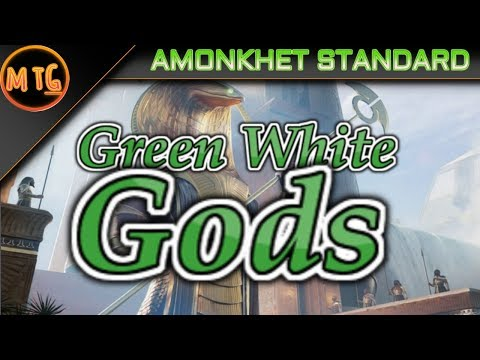 Green White Gods in Amonkhet Standard! Competitive Deck Tech! ($200)!