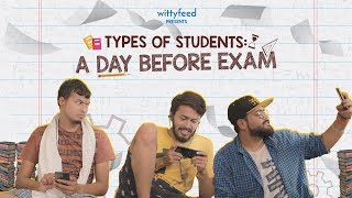 Types Of Students A Day Before Exam   Sketch Video   WittyFeed