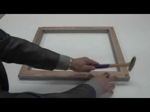 Oversized Wood Picture Frame:  How to Properly Assemble