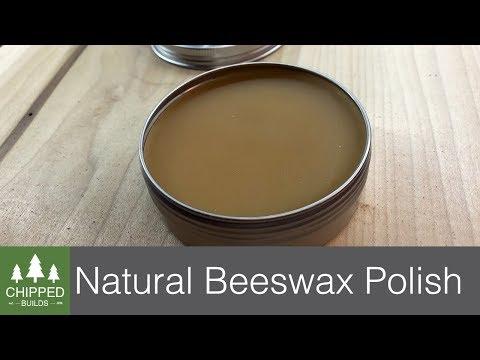 Natural Beeswax Wood Polish || How To