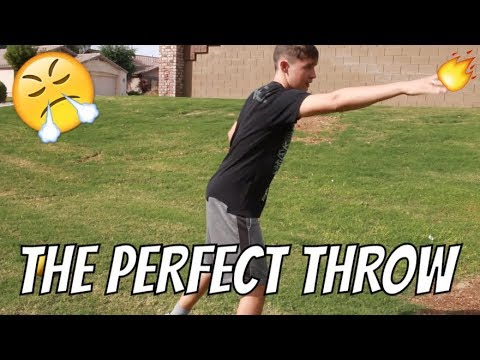 HOW TO THROW A FRISBEE FAR AND ACCURATE