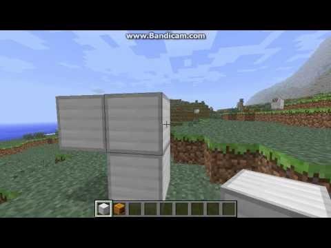 Minecraft - How to make an iron golem