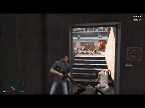 GTA V - Grosse découverte sur l'ascenseur de la base militaire !!!