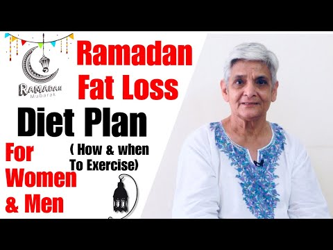 Ramadan Fat Loss Diet Plan for Men & Women | Ramzan Weight Loss Diet Plan | In Hindi