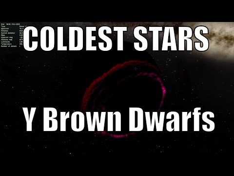 How Cold Can Stars Get? Brown Y Dwarf Stars in Space Engine