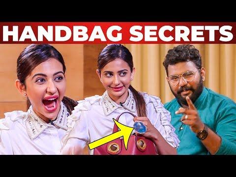 Xxx Mp4 I Can T Live Without Rakul Preet Singh Handbag Secrets Revealed What S Inside The HANDBAG 3gp Sex