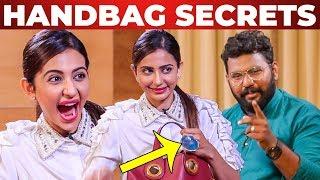 """I Can't Live Without...."" Rakul Preet Singh Handbag Secrets Revealed | What's Inside the HANDBAG"