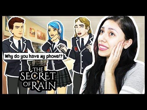 HACKING MY BOYFRIENDS PHONE! - THE SECRET OF RAIN (Episode 2) - App Game