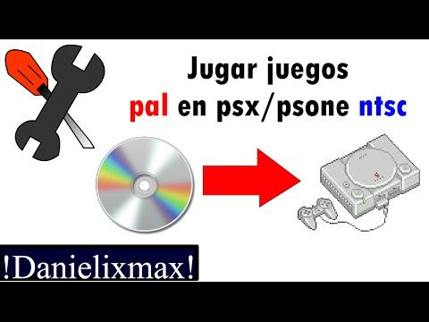 Jugar juegos PAL Y NTSC en Playstation / psone / psx || tutorial || Danielixmax ||