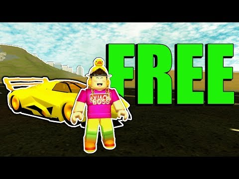The FREE SUPER CAR CODE in VEHICLE SIMULATOR! (Roblox Codes)