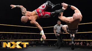 Ricochet vs. Fabian Aichner: WWE NXT, April 18, 2018