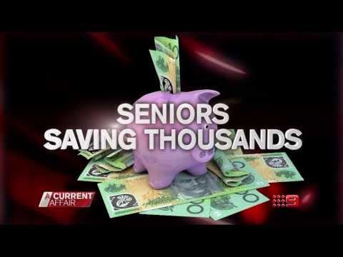 A CURRENT AFFAIR - Tonight - Australian seniors saving thousands