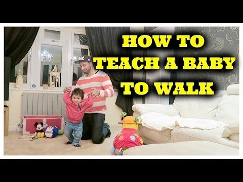 TEACHING BABY ZIDAAN TO WALK