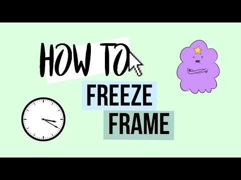 HOW TO FREEZE FRAME CLIPS ON SONY VEGAS!