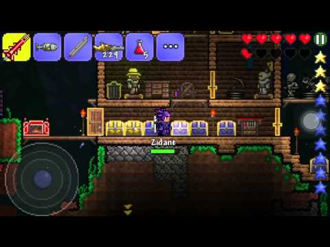 Terraria iOS Quest:Getting Angels and Demon Wings Part 3