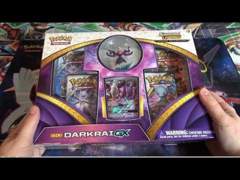 Pokemon TCG Shiny Darkrai GX Collection Opening
