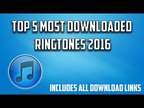 Top 5 Most Downloaded Ringtones (Download Links Included)