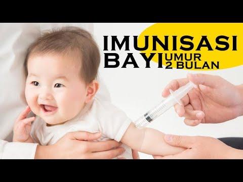 PROSES IMUNISASI BAYI USIA 2 BULAN DPT-HB-Hib 1 dan Polio 2
