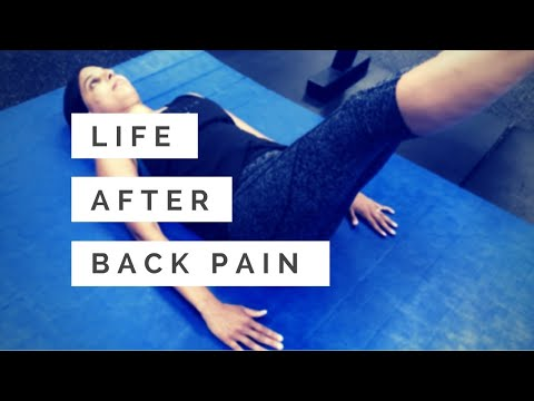 Back pain recovery: getting back to life after years of back pain and back surgery