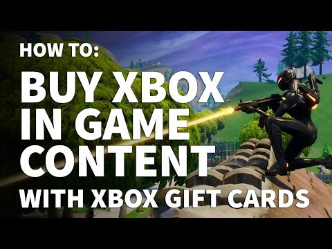 Can I Buy in Game Purchases with Xbox Gift Card – How to Buy Xbox DLC with Gift Card Money