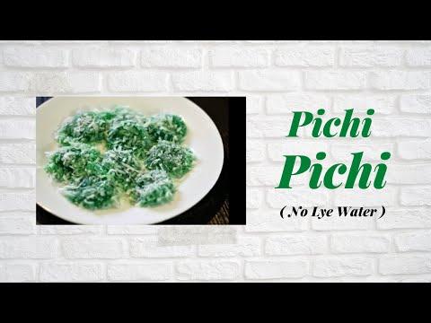 Pichi Pichi (No Lye Water)
