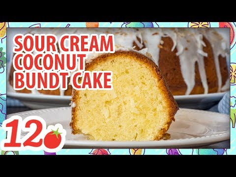 How to Make: Sour Cream Coconut Bundt Cake Recipe